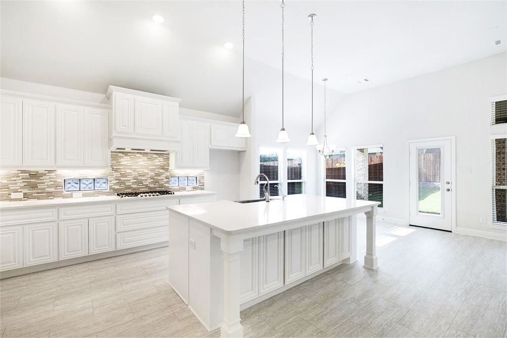 Kitchen featured in the Par F By First Texas Homes in Dallas, TX