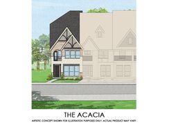 Acacia-TH - Mercer Crossing – Kensington Townhomes: Farmers Branch, Texas - First Texas Homes