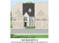 Buckeye II - TH - Mercer Crossing – Kensington Townhomes: Farmers Branch, Texas - First Texas Homes