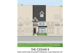 Cedar II - TH - Mercer Crossing – Kensington Townhomes: Farmers Branch, Texas - First Texas Homes
