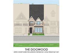 Dogwood - TH - Mercer Crossing – Kensington Townhomes: Farmers Branch, Texas - First Texas Homes