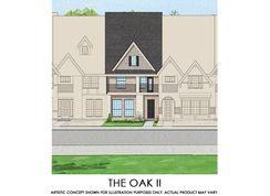 Oak II - TH - Mercer Crossing – Kensington Townhomes: Farmers Branch, Texas - First Texas Homes