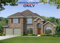 Bradford F - The Villages of Fox Hollow: Forney, Texas - First Texas Homes