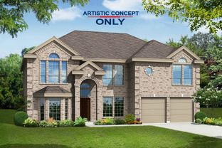 Hillcrest F (w/Media) - Marine Creek Ranch: Fort Worth, Texas - First Texas Homes