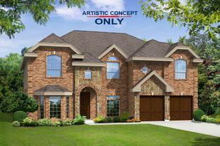 Hillcrest F (w/Media) - Willow Wood: McKinney, Texas - First Texas Homes