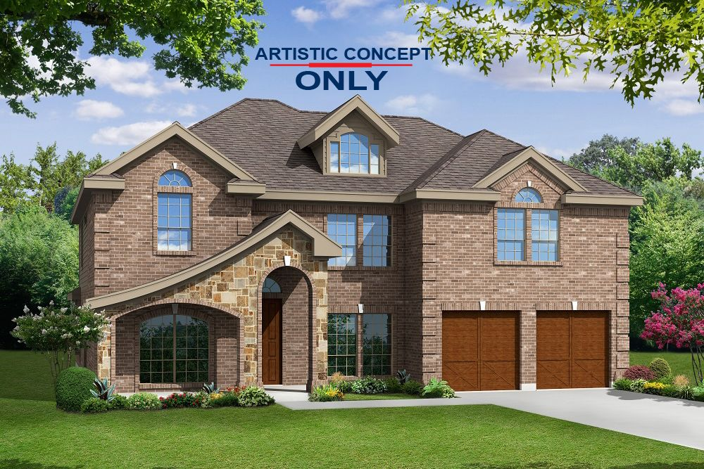 Exterior featured in the Hillcrest F (w/Media) By First Texas Homes in Dallas, TX