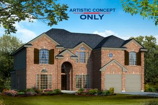 Hillcrest F (w/Media) - The Villages of Hurricane Creek: Anna, Texas - First Texas Homes
