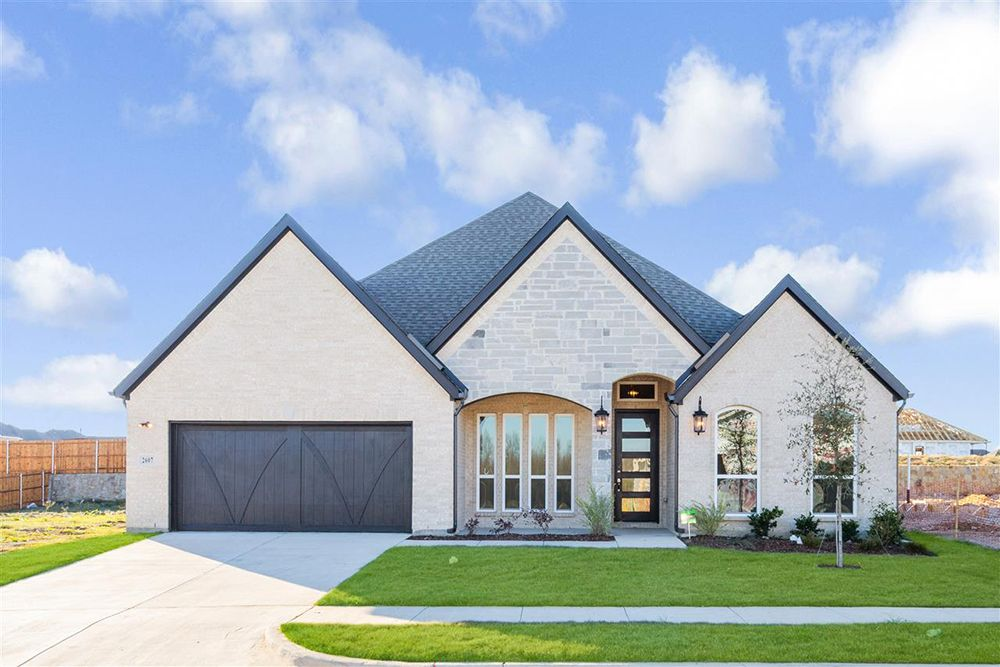 Exterior featured in the Eagle F By First Texas Homes in Dallas, TX