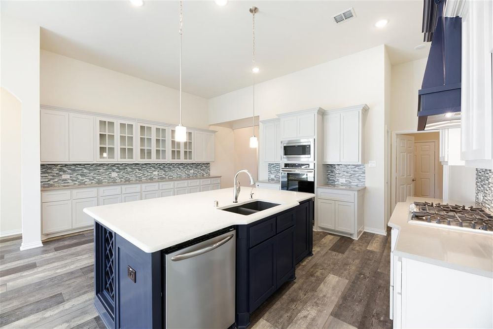 Kitchen featured in the Eagle F By First Texas Homes in Dallas, TX