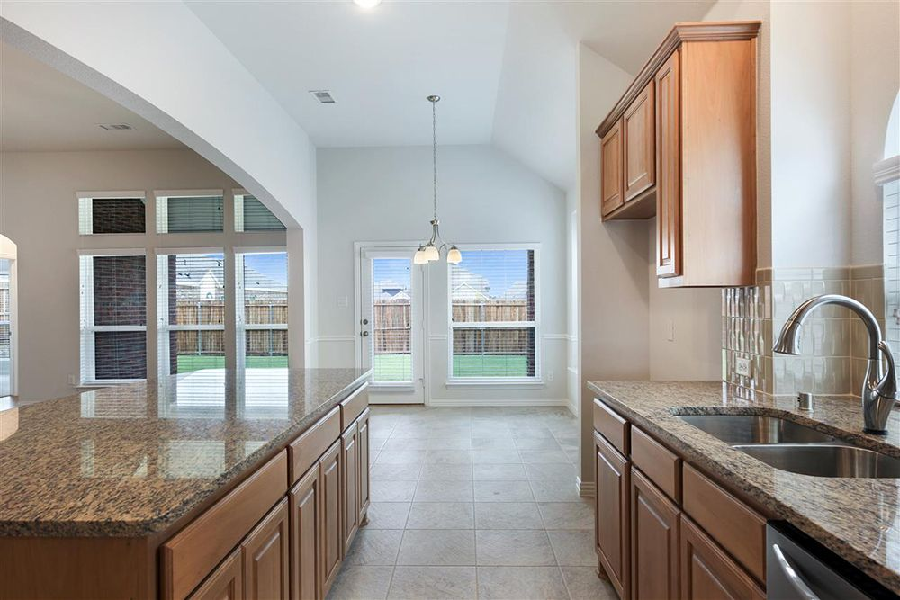 Kitchen featured in the Waterford II FSW By First Texas Homes in Dallas, TX