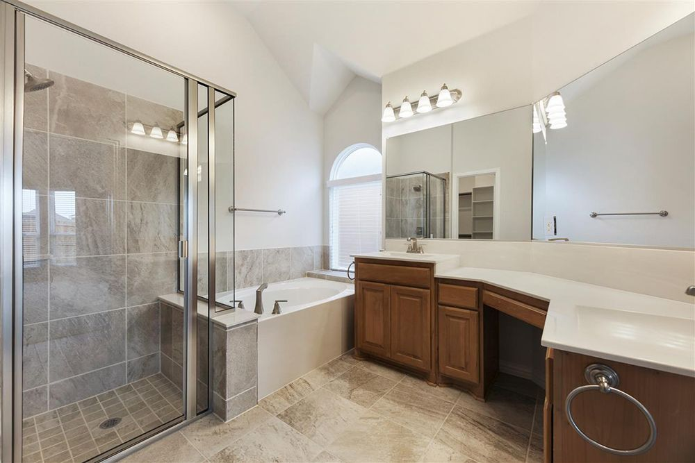 Bathroom featured in the Waterford II FSW By First Texas Homes in Dallas, TX