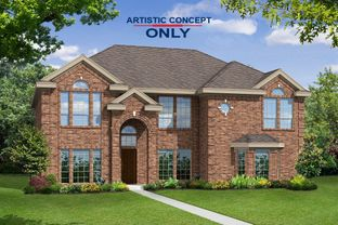 Hillcrest FS (w/Media) - Estates of Cole Manor: Red Oak, Texas - First Texas Homes