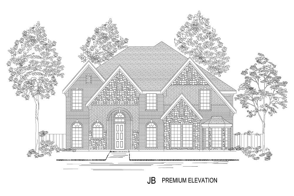 Exterior featured in the Hillcrest R (w/Media) By First Texas Homes in Dallas, TX