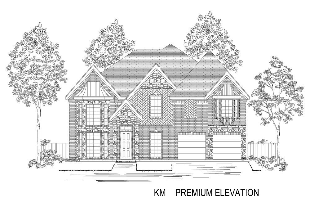 Exterior featured in the Stonehaven F By First Texas Homes in Dallas, TX