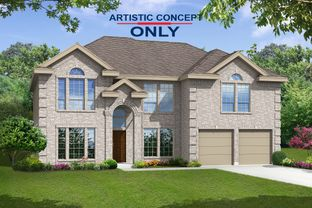 Stonehaven F - Sutton Fields: Celina, Texas - First Texas Homes