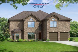 Brentwood II F (w/Media) - Grayhawk Addition: Forney, Texas - First Texas Homes