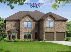 Brentwood II F (w/Media) - Llano Springs: Fort Worth, Texas - First Texas Homes