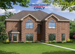 Brentwood II FS - Estates of Cole Manor: Red Oak, Texas - First Texas Homes