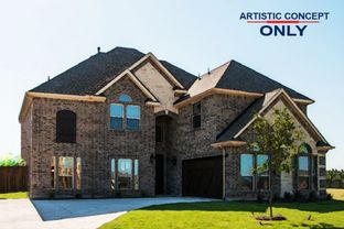 Brentwood FSW - Broadmoor Estates: Red Oak, Texas - First Texas Homes