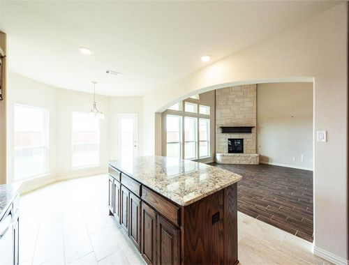 Kitchen-in-Stonehaven F-at-Sutton Fields-in-Celina