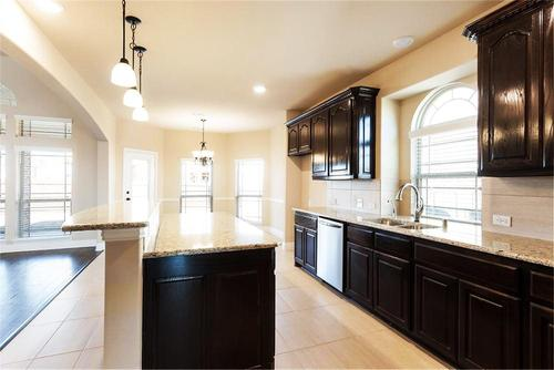 Kitchen-in-Stonehaven FS (w/Media)-at-Bower Ranch-in-Mansfield