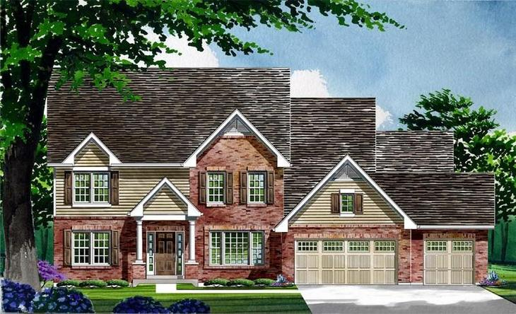 Exterior:Waterford | Warwick | Elevation II