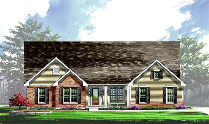 Exterior:Arlington II - Woods at Cottleville Trail | Estate | Elevation II