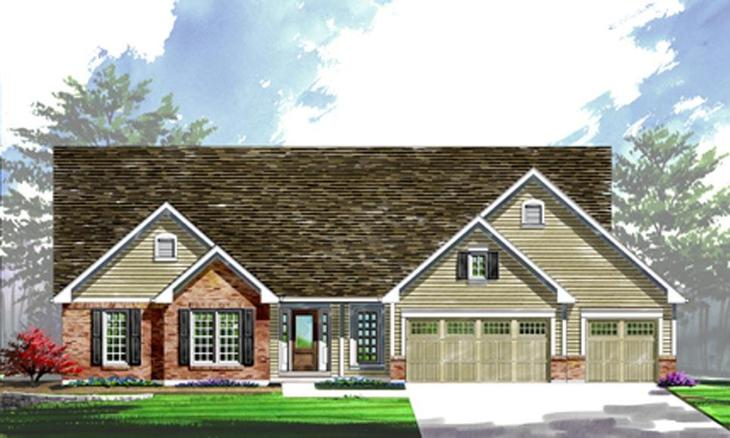 Exterior:Arlington II | Warwick | Elevation II