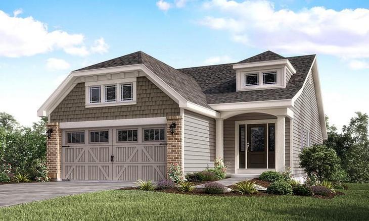 Exterior:Ashland/Highland | Villa | Elevation I