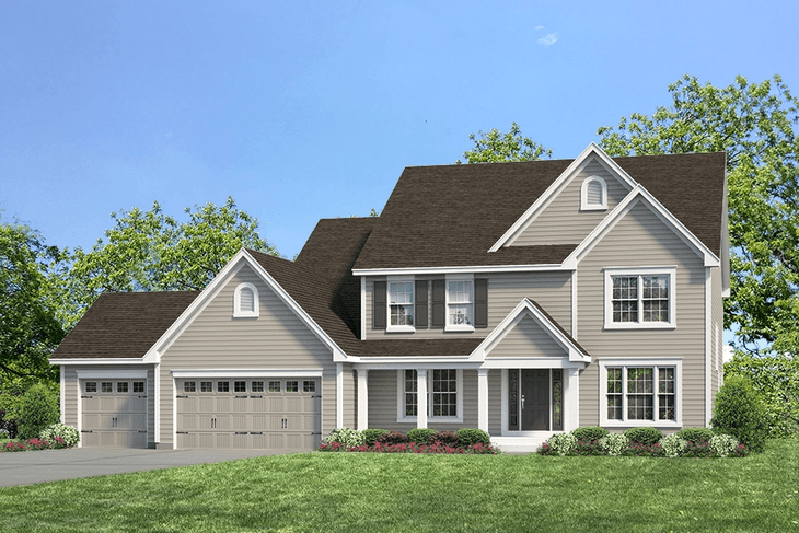 Exterior:Woodland I Waterford I Elevation I
