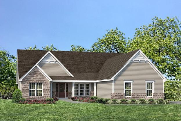 Exterior:Estate I Woodside I Elevation II