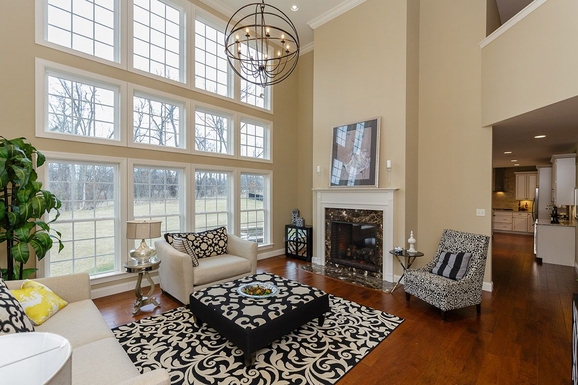 Living Area featured in the Parkview II - Heritage By Fischer & Frichtel in St. Louis, MO