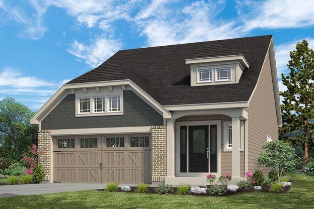 Exterior:Fairfax I Villa I Elevation I