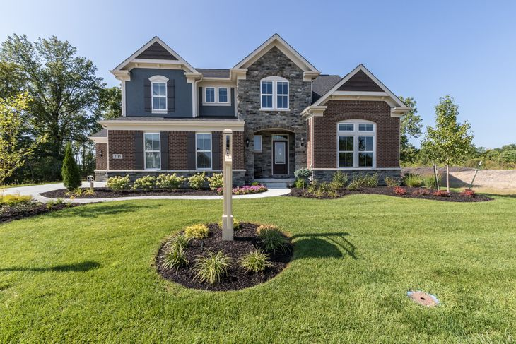 Huff Homes Floor Plans   Trailside Woods In Noblesville In New Homes Floor Plans By