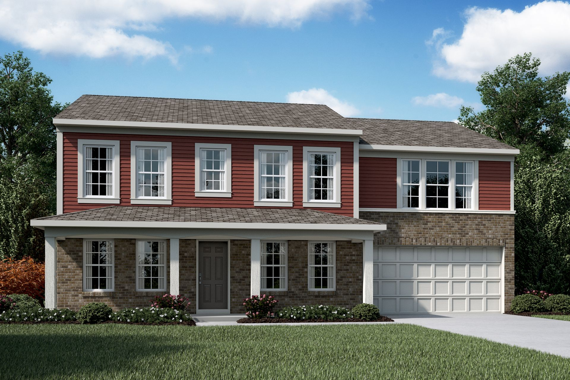 Denali Plan At Heron Manor In Pataskala Oh By Fischer Homes