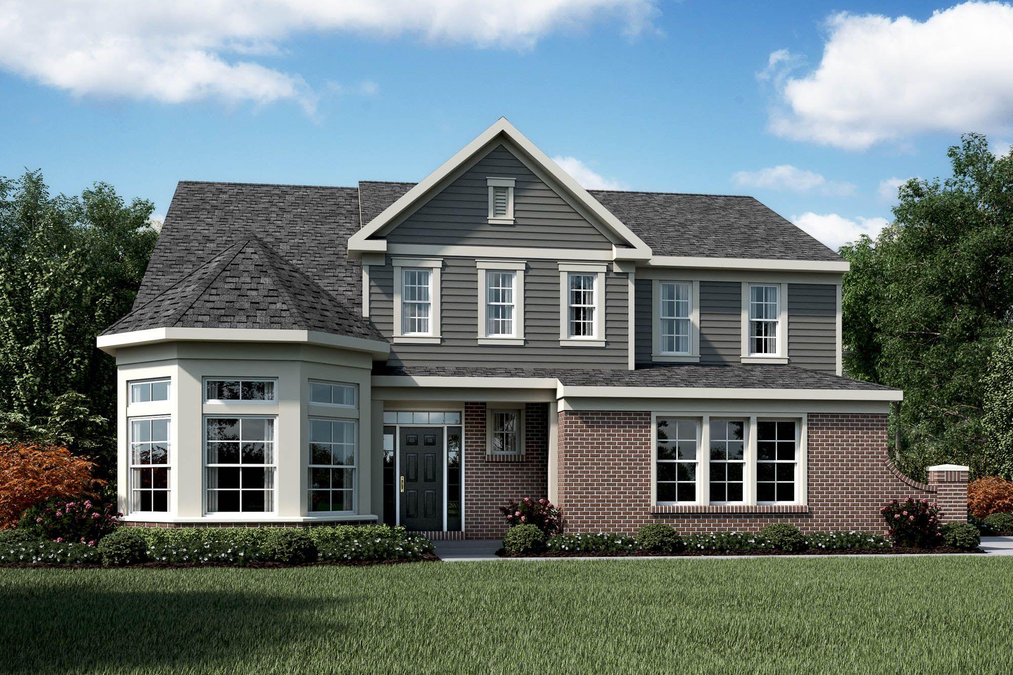 100 Fischer Homes Floor Plans New Single Family