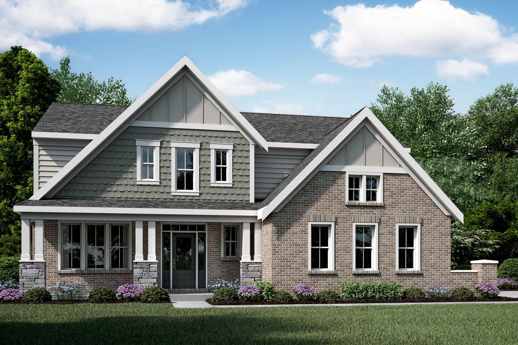 Wallace Floor Plan Fischer Homes House Design Plans