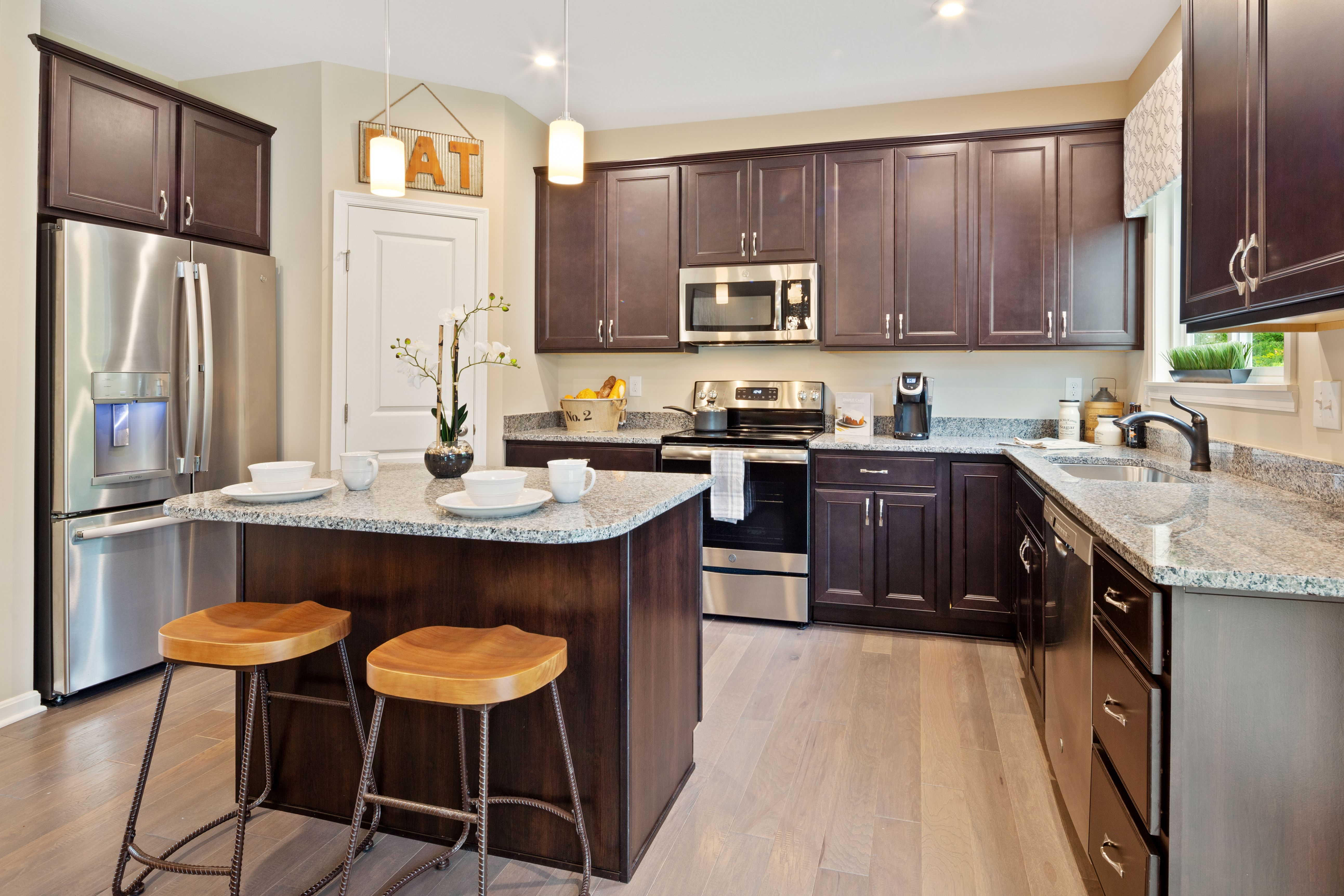 Kitchen featured in the Yosemite By Fischer Homes  in Dayton-Springfield, OH