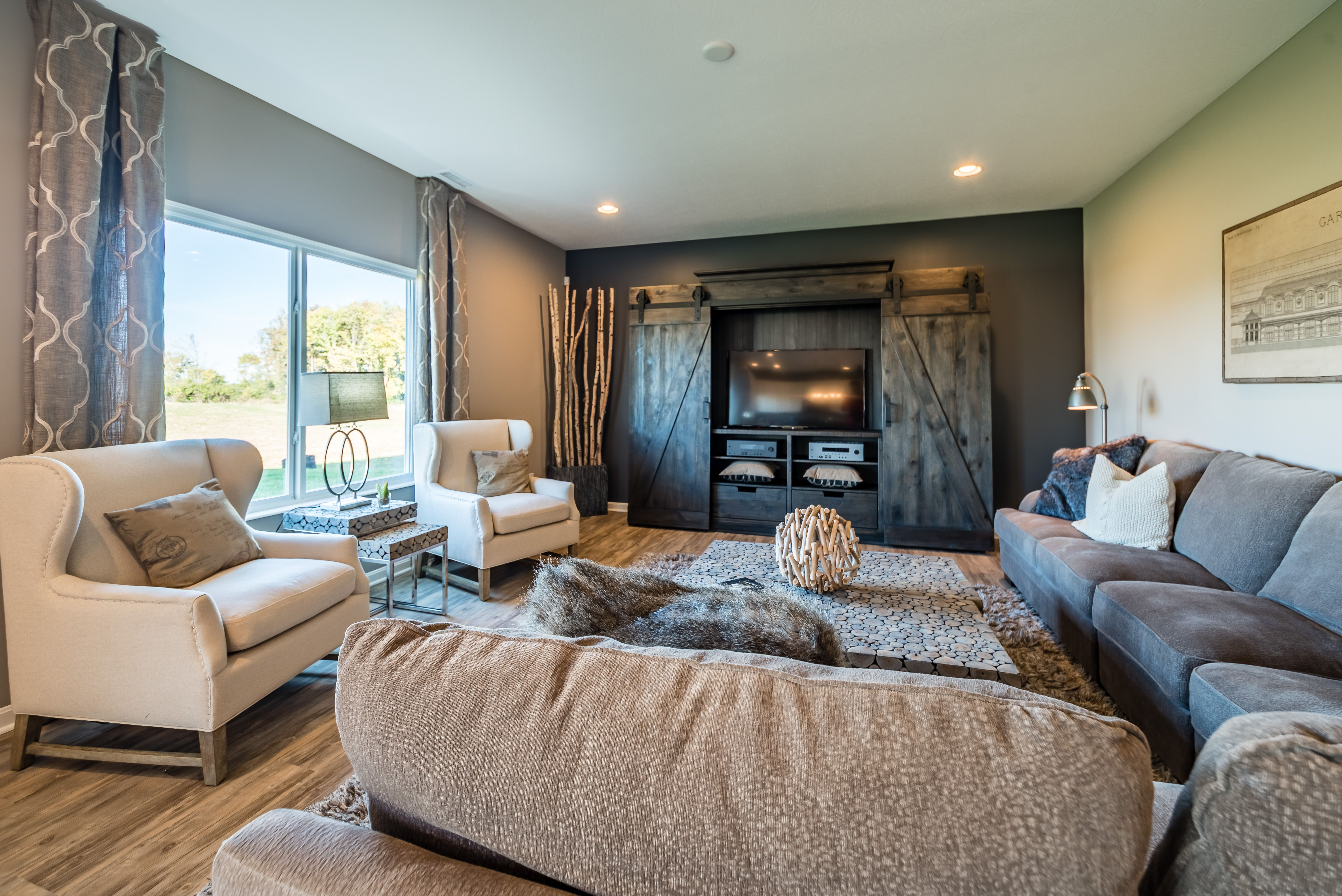 Living Area featured in the Yosemite By Fischer Homes  in Dayton-Springfield, OH