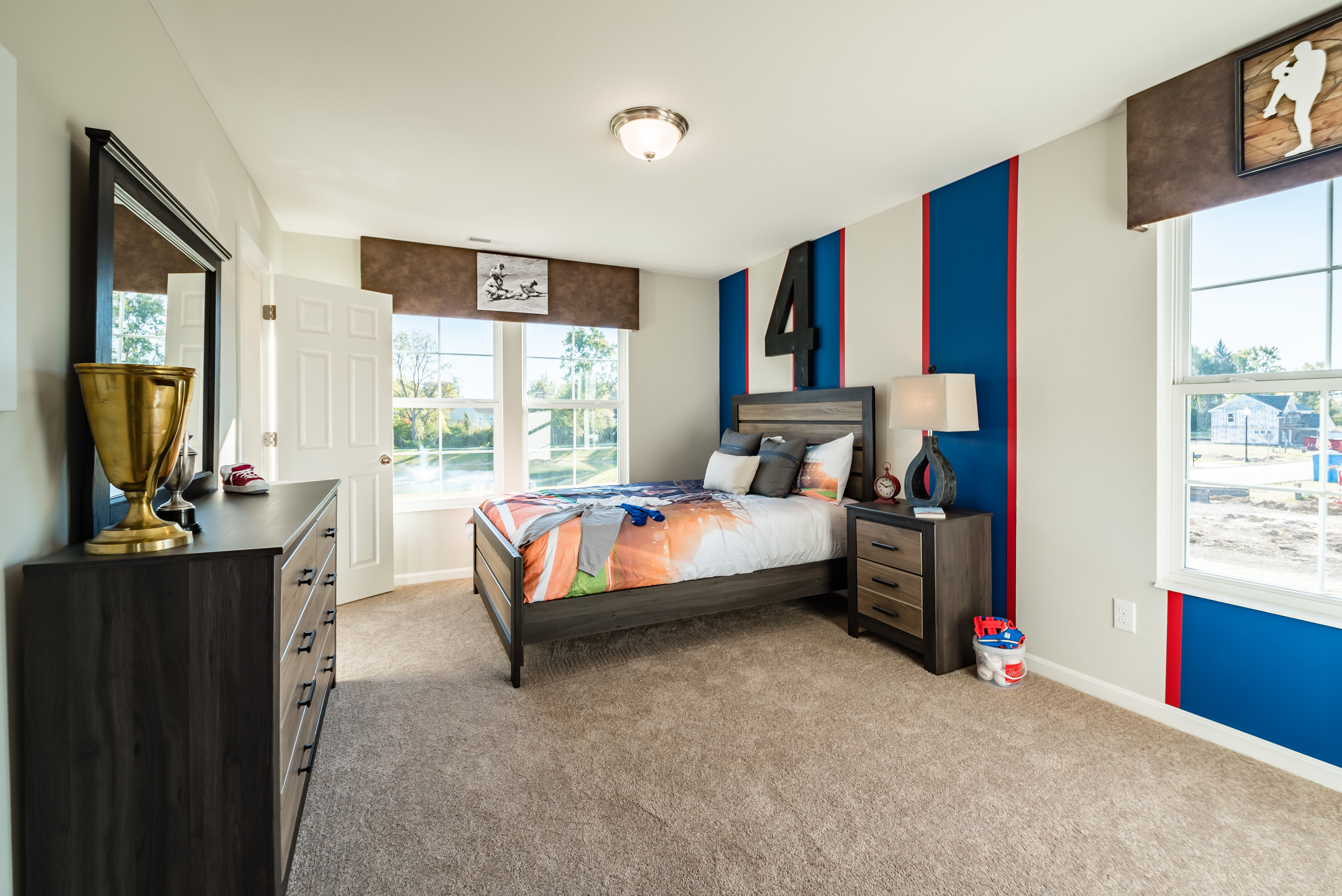 Bedroom featured in the Yosemite By Fischer Homes  in Dayton-Springfield, OH