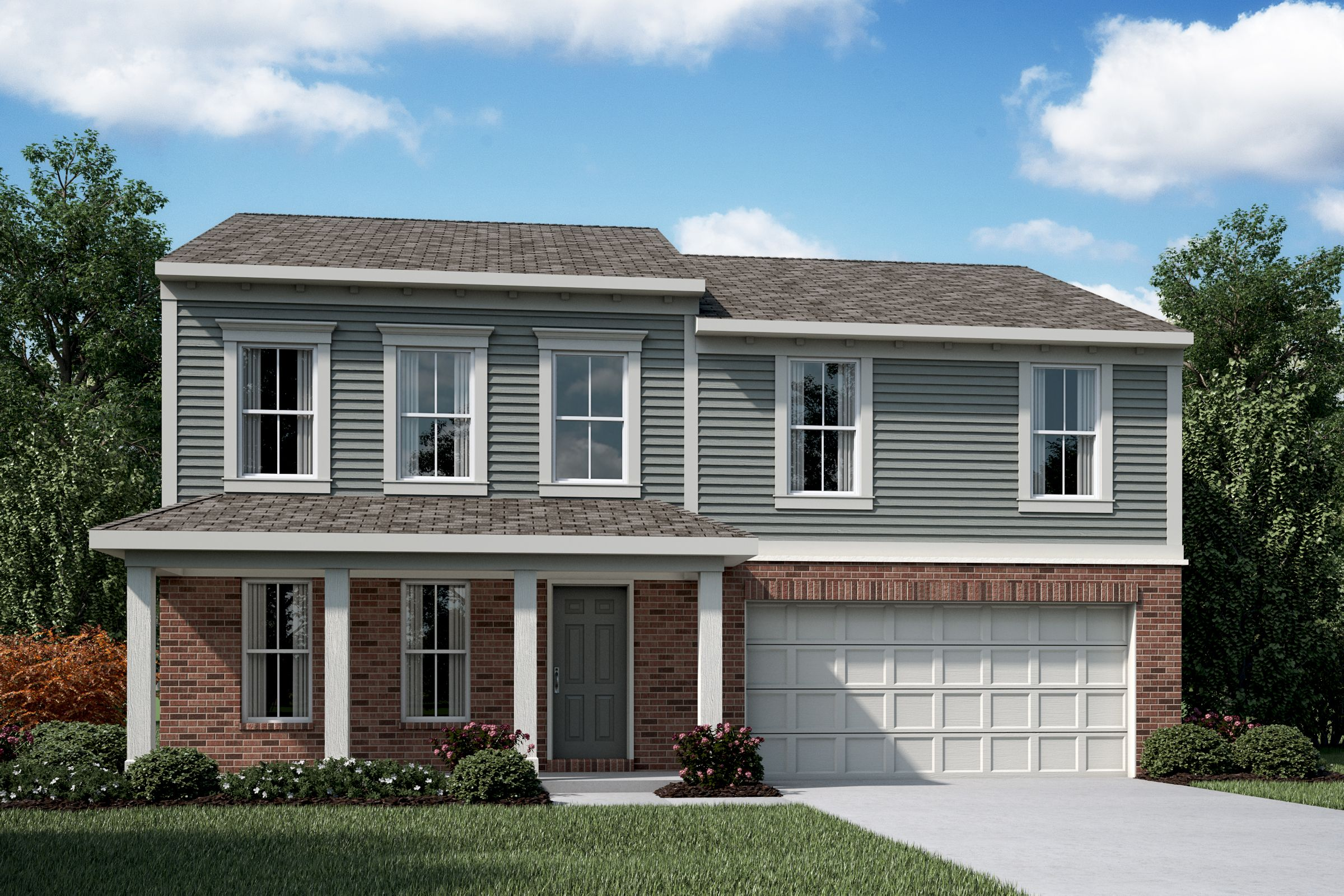 Exterior featured in the Cumberland By Fischer Homes  in Cincinnati, OH