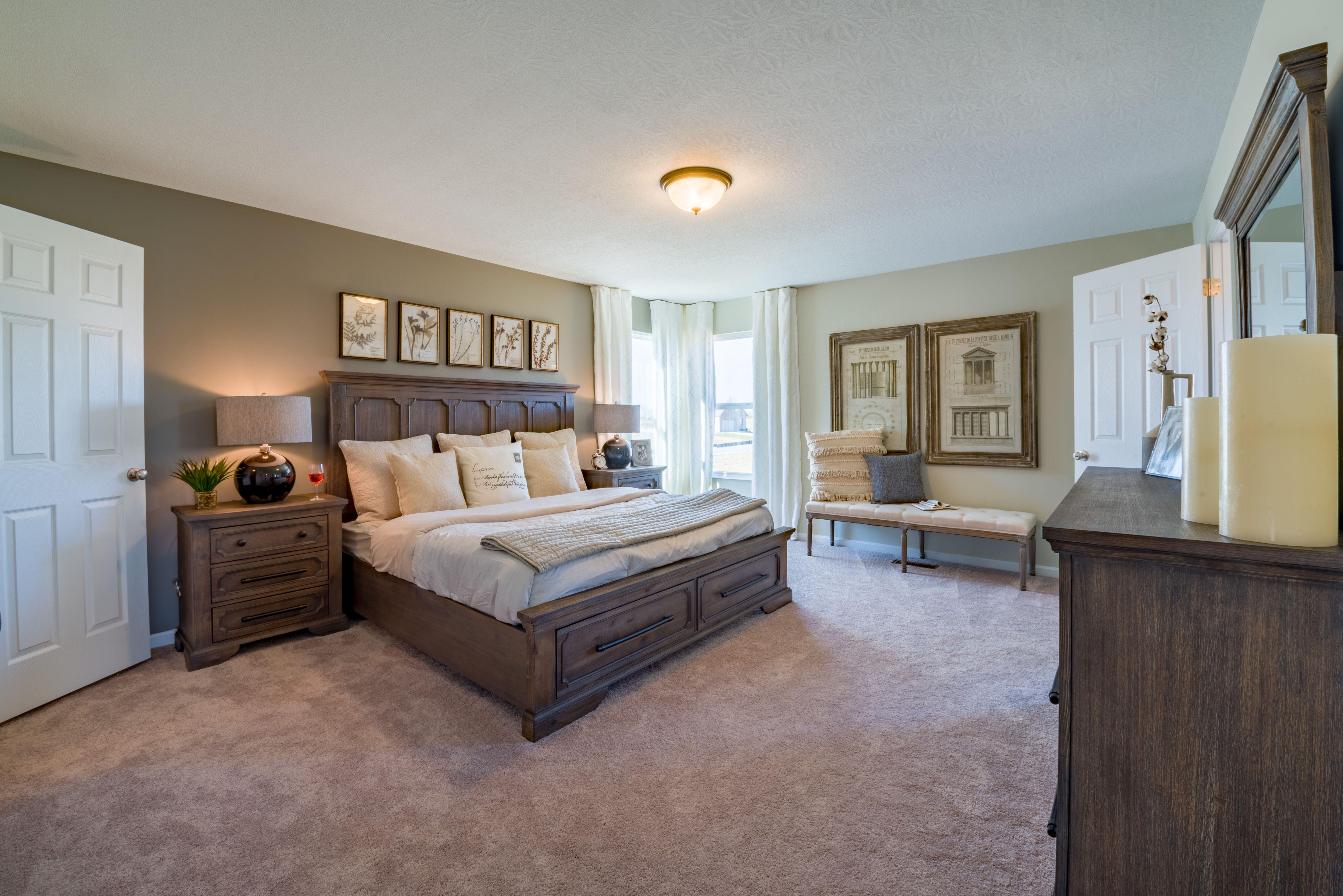 Bedroom featured in the Cumberland By Fischer Homes  in Cincinnati, OH