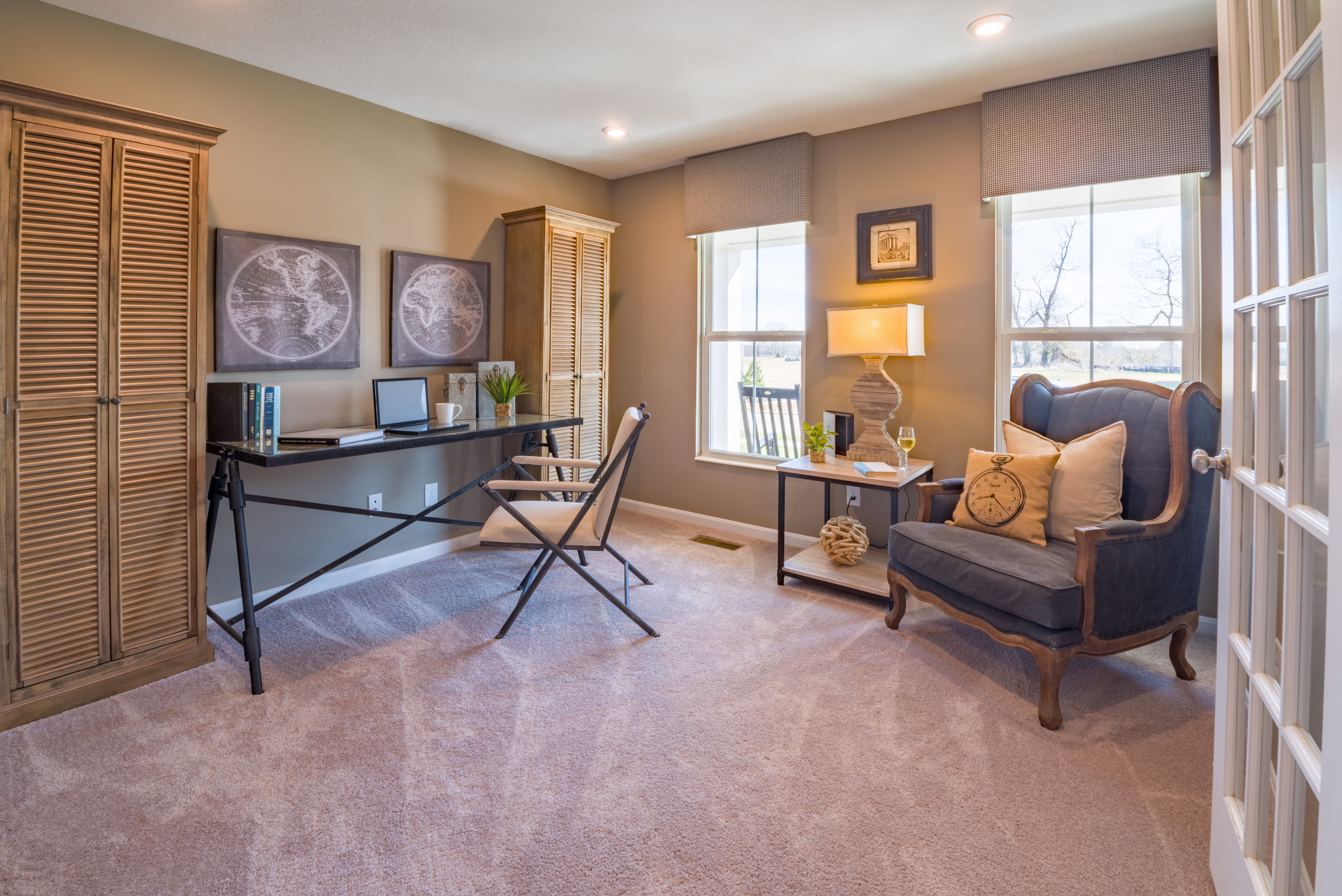 Living Area featured in the Cumberland By Fischer Homes  in Cincinnati, OH