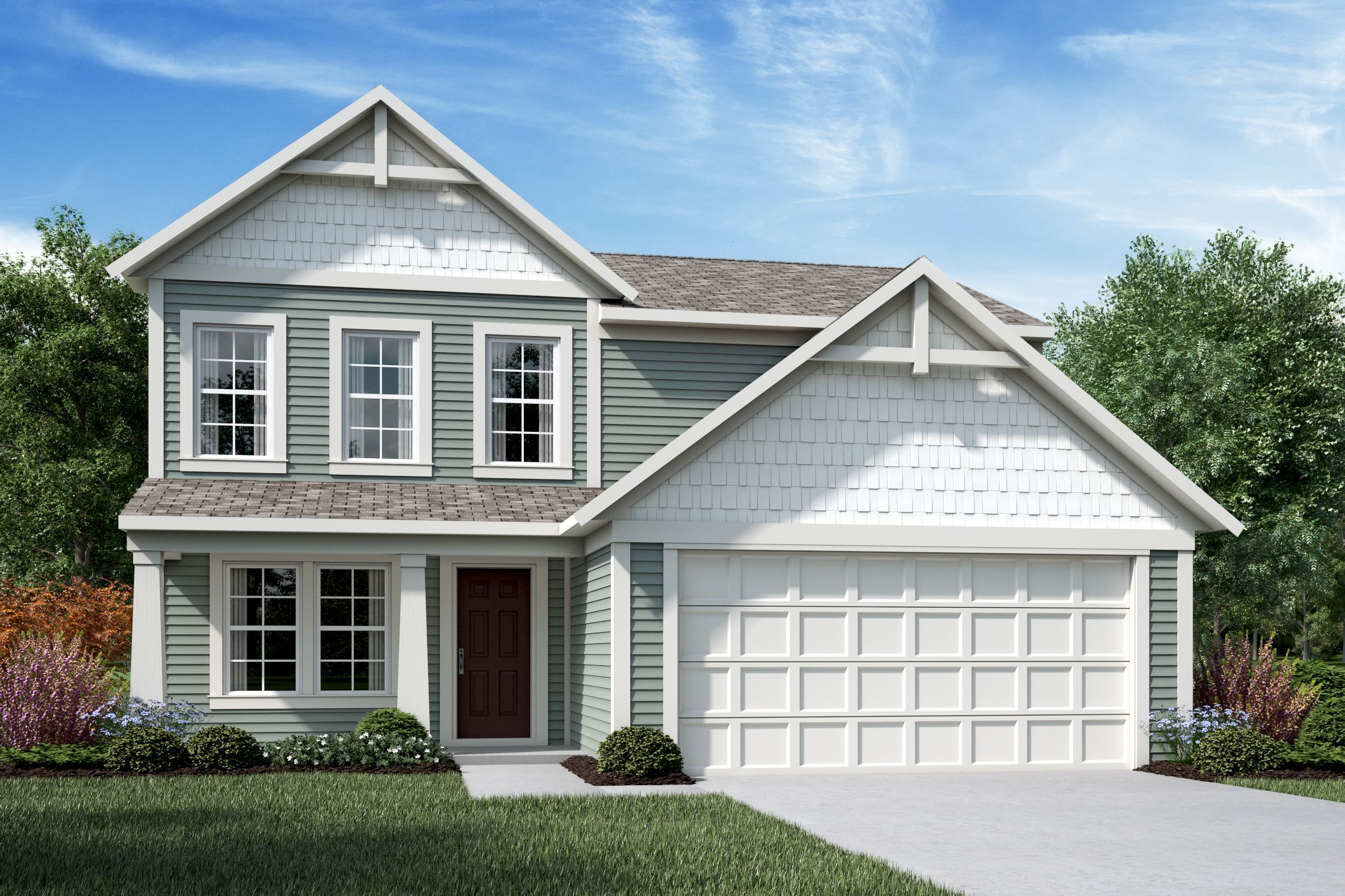 Exterior featured in the Wesley By Fischer Homes  in Louisville, KY