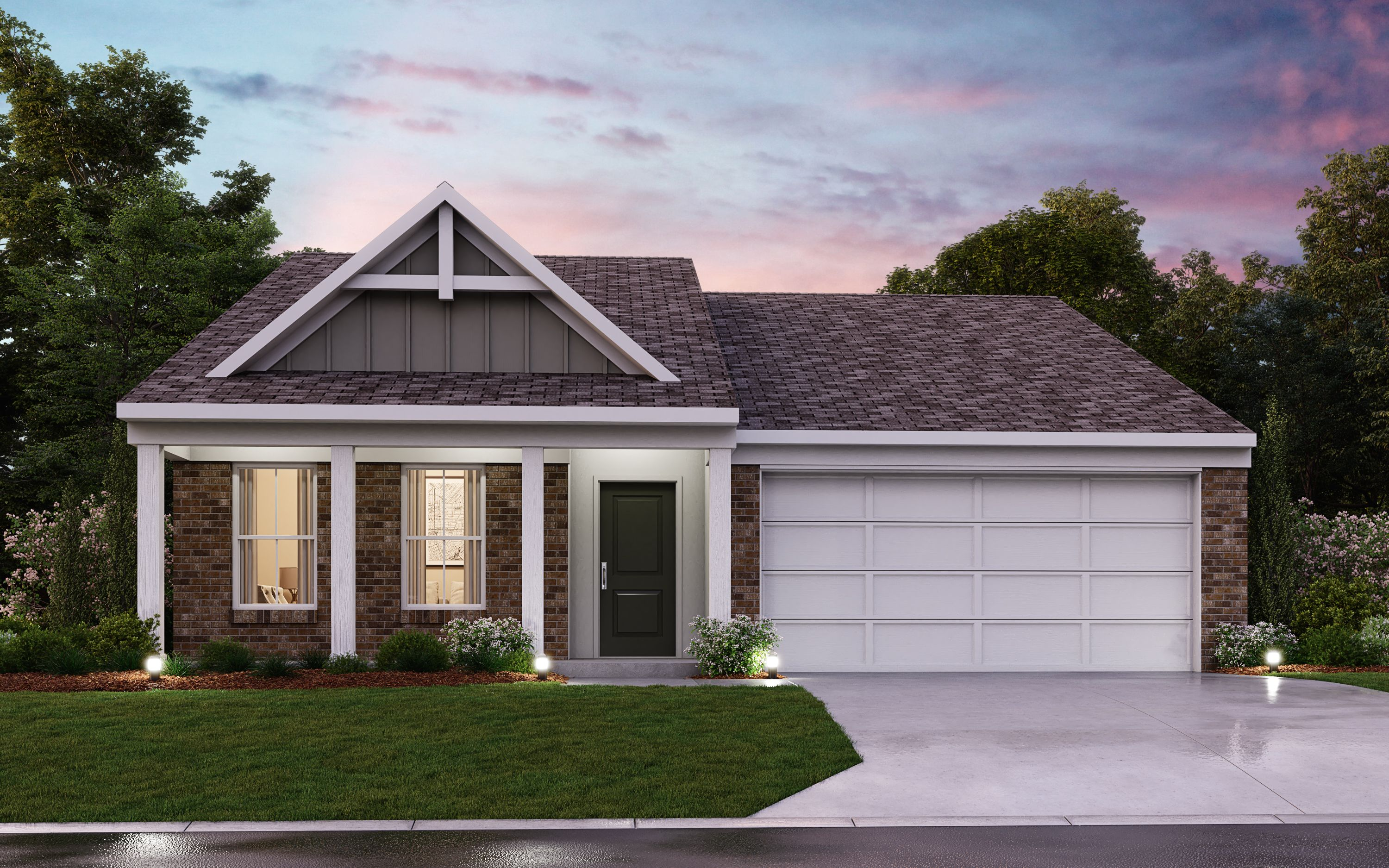 Exterior featured in the Beacon By Fischer Homes  in Dayton-Springfield, OH