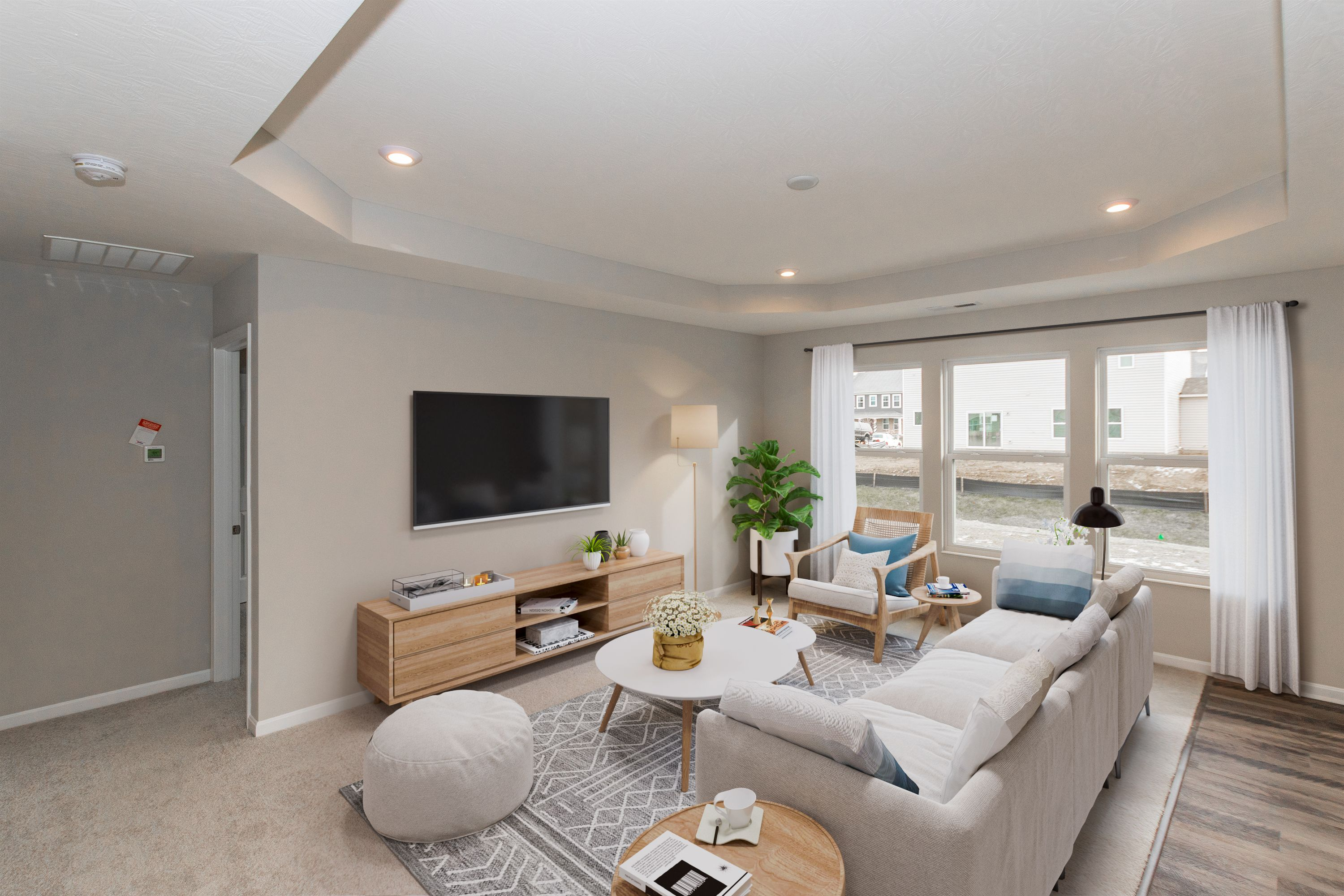 Living Area featured in the Beacon By Fischer Homes  in Louisville, KY