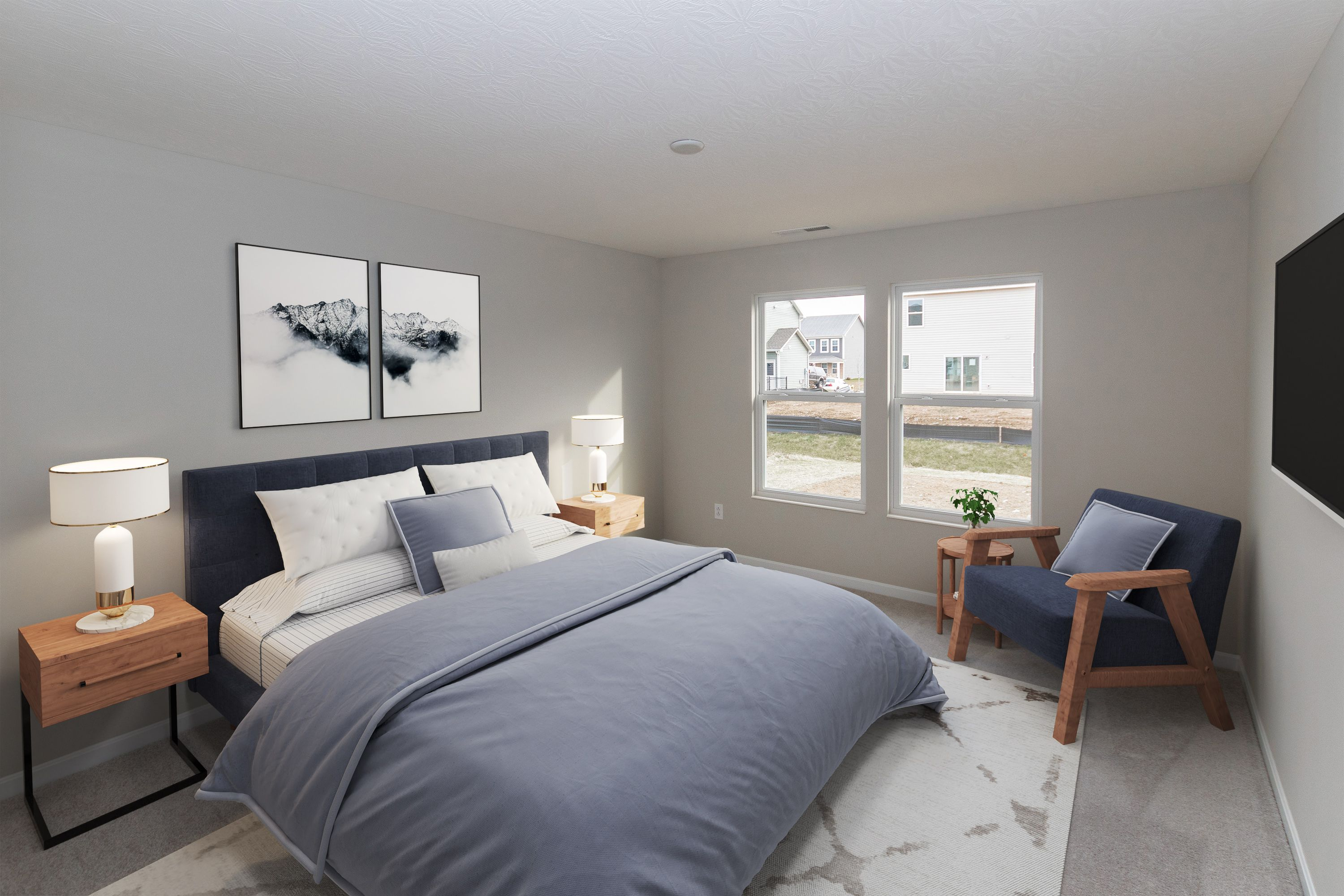 Bedroom featured in the Beacon By Fischer Homes  in Louisville, KY