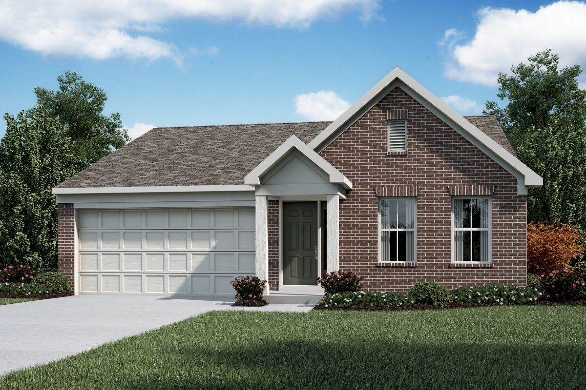 Exterior featured in the Charlotte By Fischer Homes  in Louisville, KY
