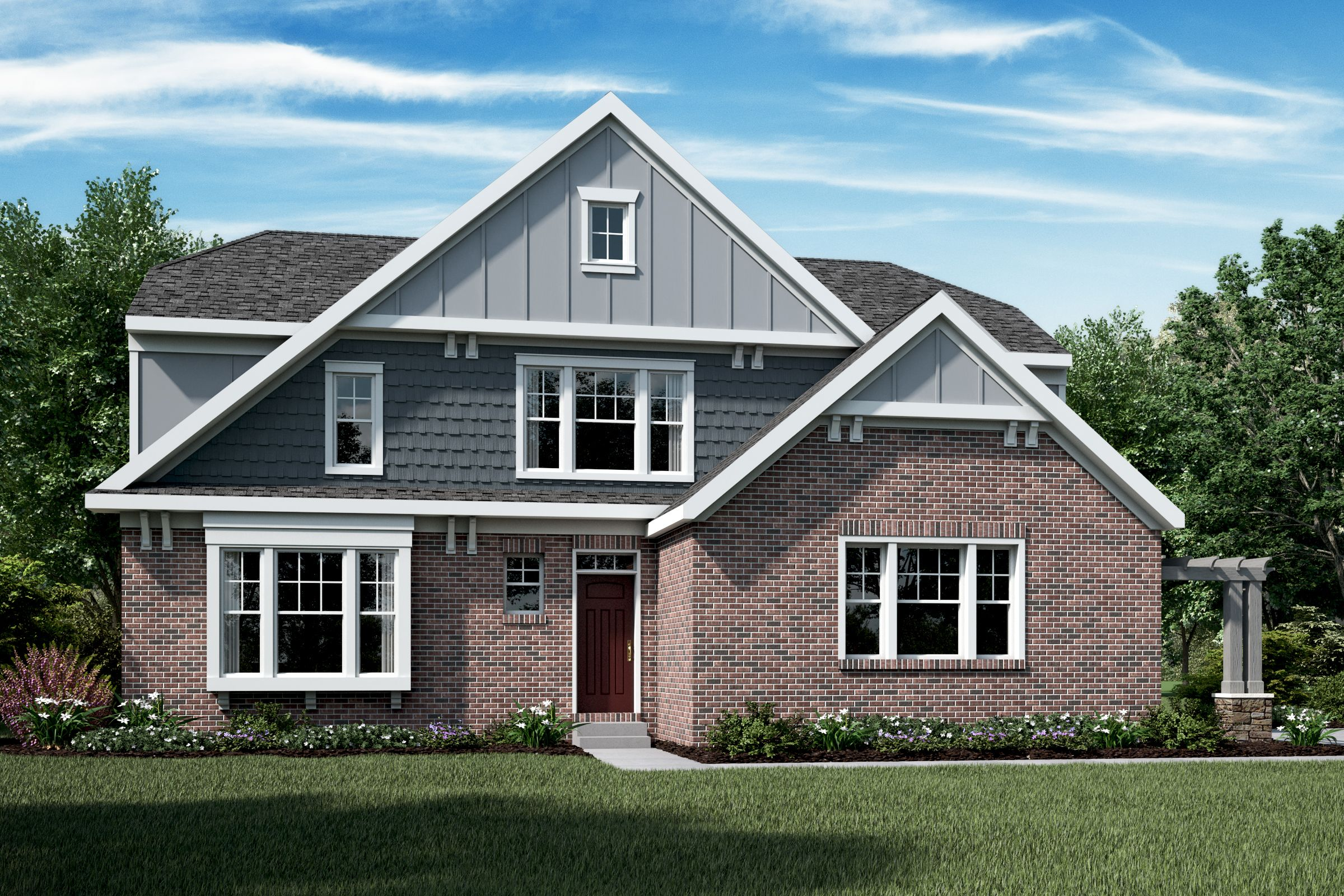 Exterior featured in the Blake By Fischer Homes  in Cincinnati, KY