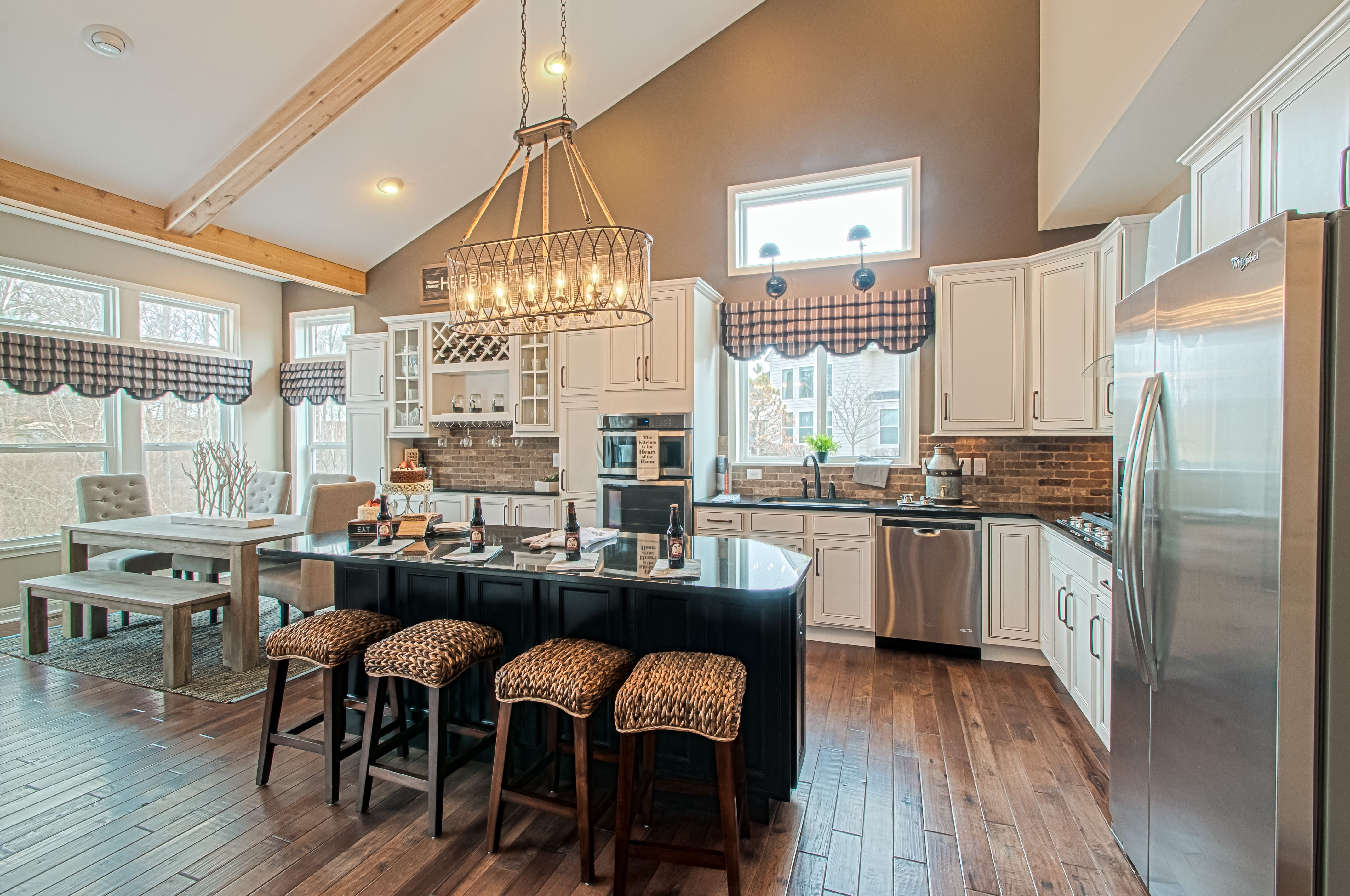 Kitchen featured in the Blake By Fischer Homes  in Columbus, OH